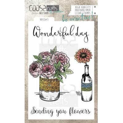 COOSA Crafts Clear Stamps - Vase