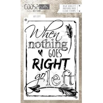 COOSA Crafts clearstamps A6 - Go left
