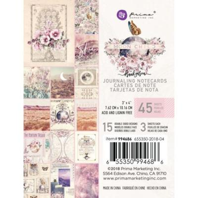 Prima Marketing Journaling Cards - Moon Child
