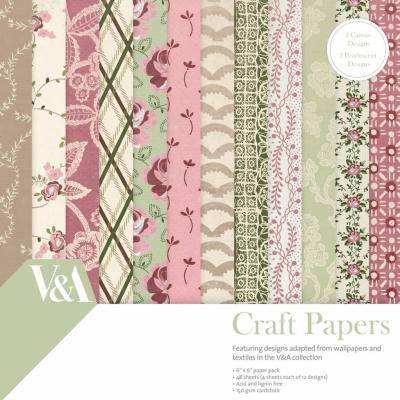 First Edition Paper Pad 6x6 Inch - Craft Paper