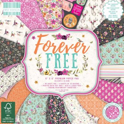 First Edition Paper Pad 6x6 Inch -  Forever Free