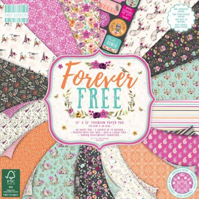 First Edition Paper Pad 12x12 Inch -  Forever Free