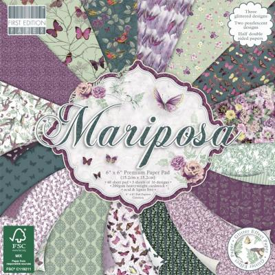 First Edition Paper Pad - Mariposa