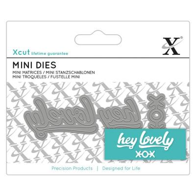 Xcut Stanzschablone - Hey Lovely