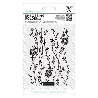 Xcut  Embossing Folder - Blossom Vines