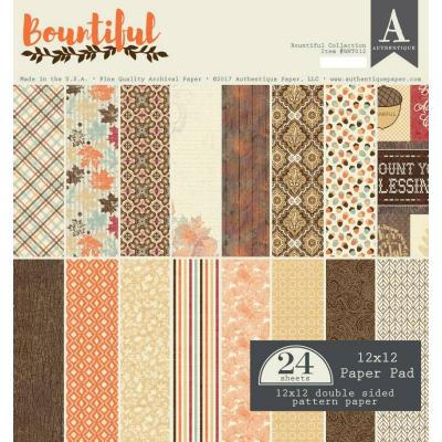 Authentique Paper Pad - Bountiful