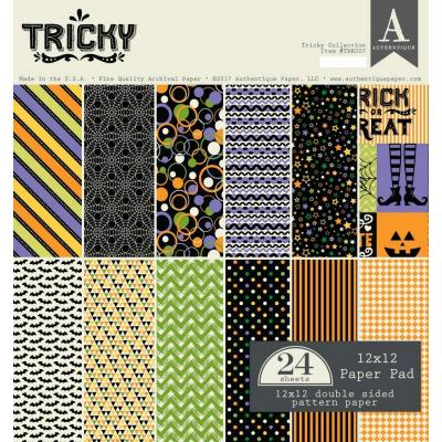 Authentique Paper Pad - Tricky