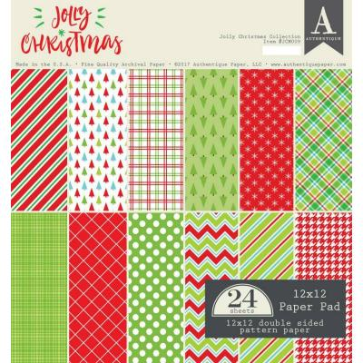 Authentique Paper Pad - Jolly Christmas