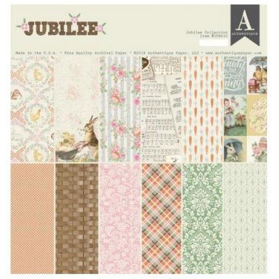 Authentique Paper Pad - Jubilee