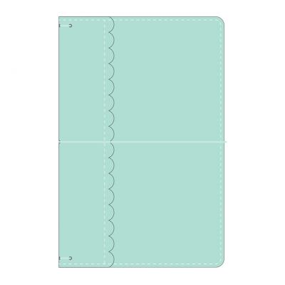 Doodlebug daily doodles travel planner - Mint