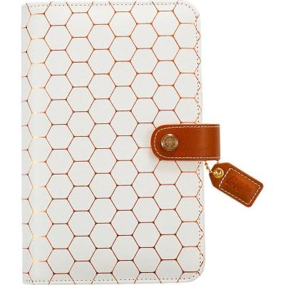 Websters Pages Personal Planner Kit - Copper Hexagon