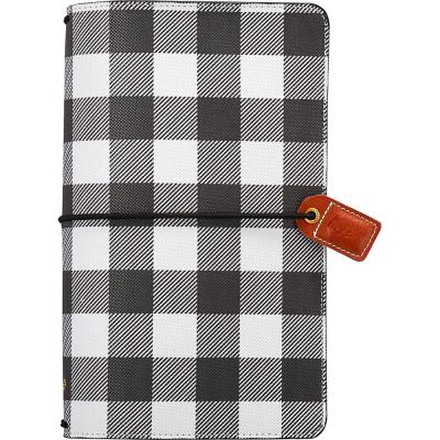 Websters Pages Traveler's Notebook Planner - Buffalo Plaid