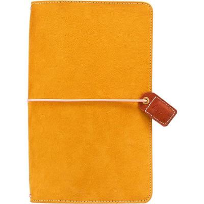 Websters Pages Traveler's Notebook Planner - Mustard Suede