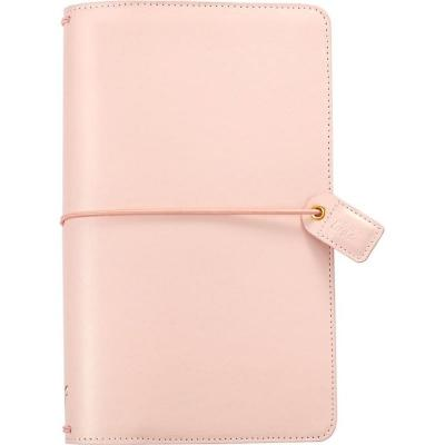 Websters Pages Traveler's Notebook Planner -  Blush Pink