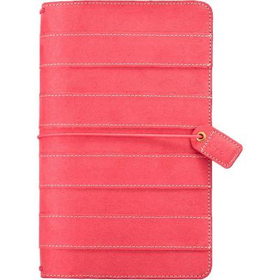 Websters Pages Traveler's Notebook Planner - Pink Stitched Stripe