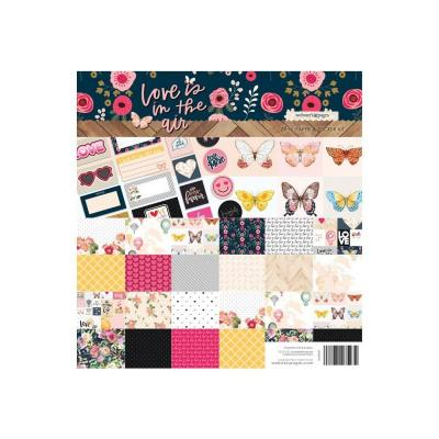 Websters Pages Collection Kit - Love Is In The Air