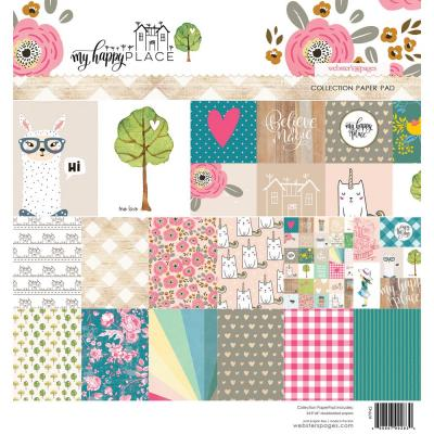 Webster Pages Paper Pad - My Happy Place