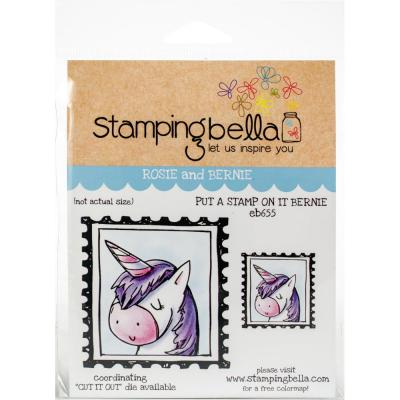 Stamping Bella Cling Stamps - Put A Stamp On It Bernie