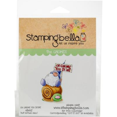 Stamping Bella Cling Stamps - Oh Gnome You Didn't