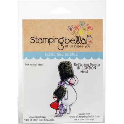 Stamping Bella Cling Stamps - Rose & Bernie In London