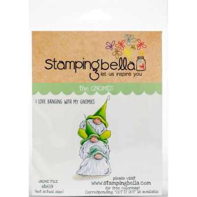 Stamping Bella Cling Stamps - Gnome Pile