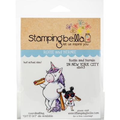 Stamping Bella Cling Stamps - Rosie & Bernie In New York