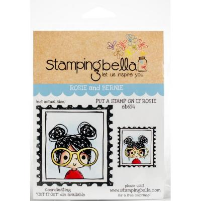 Stamping Bella Cling Stamps - Put A Stamp On It Rosie