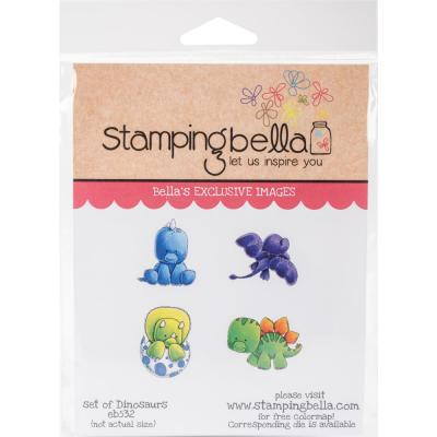 Stamping Bella Cling Stamps - Dinosaurs