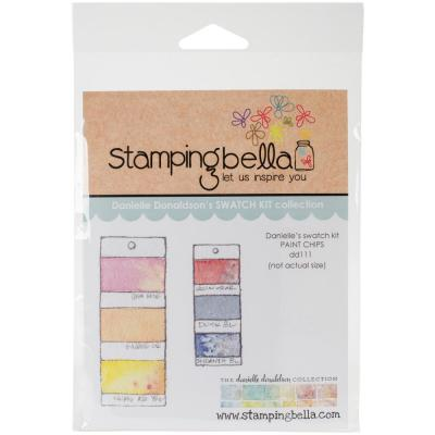 Stamping Bella Cling Stamps - Paint Chips