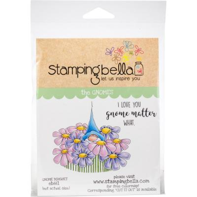 Stamping Bella Cling Stamps - Gnome Bouquet