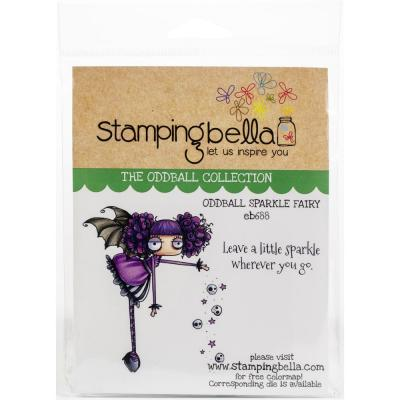Stamping Bella Cling Stamps - Oddball Sparkle Fairy