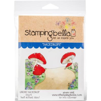 Stamping Bella Cling Stamps - Gnome Backdrop