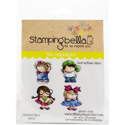 Stamping Bella Cling Stamps - Squidgy Pals