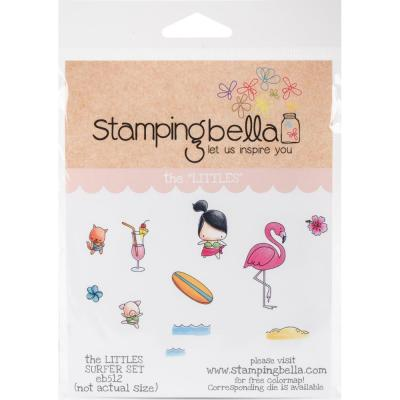Stamping Bella Cling Stamps - Surfer