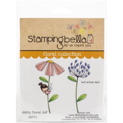 Stamping Bella Cling Stamps - Daisy Floral