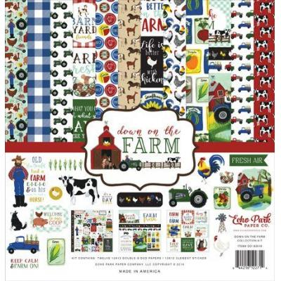 Echo Park Down On The Farm Collection Kit