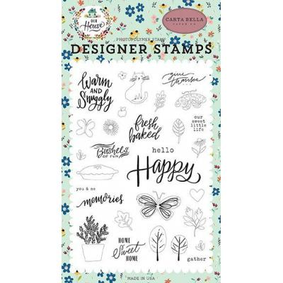Carta Bella Clearstamp Our House - Sweet Little Life