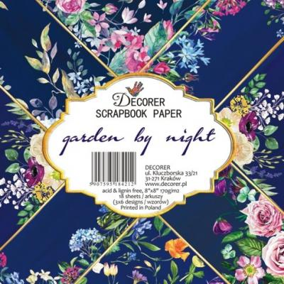 Decorer Paper Pack - Garden by Night