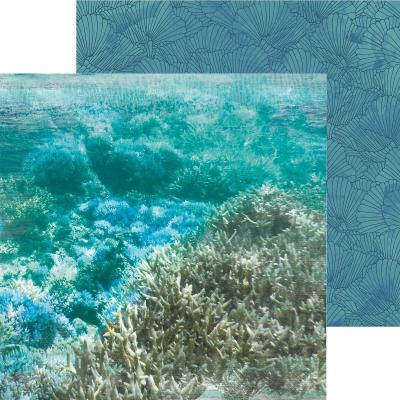 Kaisercraft Designpapier Deep Sea - Barrier Reef
