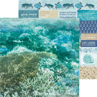 Kaisercraft Designpapier Deep Sea - Sand Bar