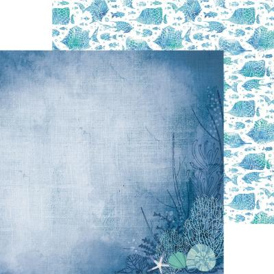 Kaisercraft Designpapier Deep Sea - Shell