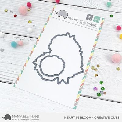 Mama Elephant Creative Cuts - Heart In Bloom