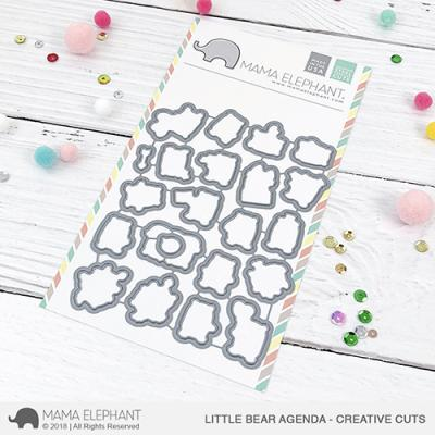 Mama Elephant Creative Cuts - Little Bear Agenda