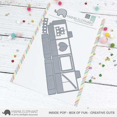 Mama Elephant Creative Cuts - Inside Pop - Box Of Fun