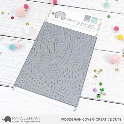 Mama Elephant Creative Cuts - Woodgrain Cover