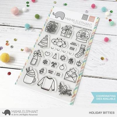 Mama Elephant Clearstamps - Holiday Bitties