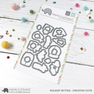 Mama Elephant Creative Cuts - Holiday Bitties