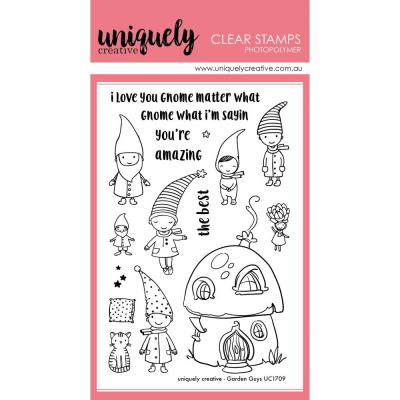 Uniquely Creative Clearstamps - Garden Guys