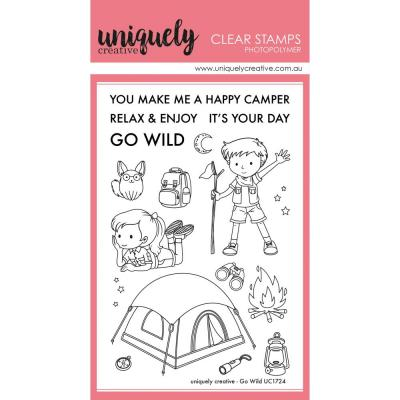 Uniquely Creative Clearstamps - Go Wild