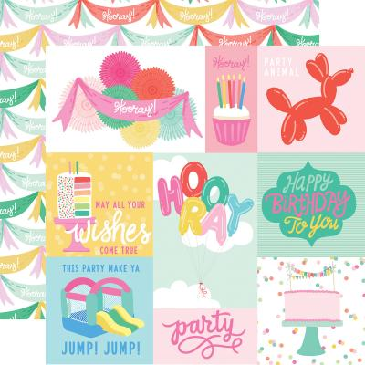 Echo Park Let's Party - Journaling Cards